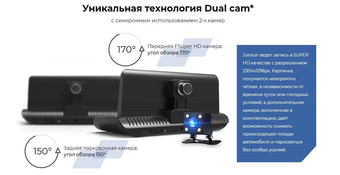 Уникальная технология Dual Cam